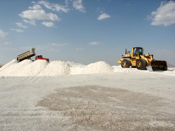 معدن نمک کفه نمکی سیرجان